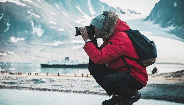 'Capturant l'emoció de l'Àrtic', de primer premi de 'Les meues vacances'