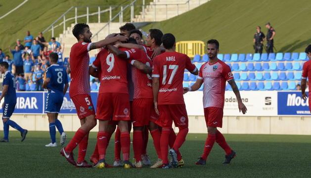 El Lleida empata en el campo del colista (1-1)