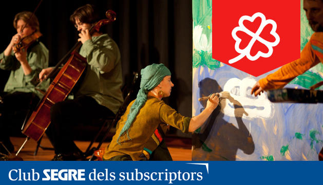 La Botzina ens presenta la seva particular adaptació del conte original d'Eric Carle, amb música del Quartet Brossa i dibuixos de Maria Vidal.