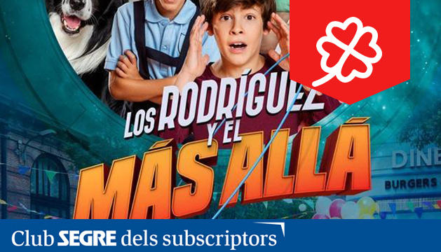 La nova pel·lícula de Paco Arango es titula 'Los Rodríguez y el más allá'.