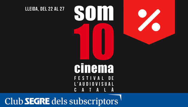 El cartell de la 10a edició del Festival de l'Audiovisual català, Som Cinema 2019.