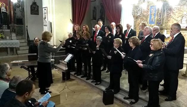 Concert de celebració del 65è aniversari, el 27 d'octubre passat, al Soleràs
