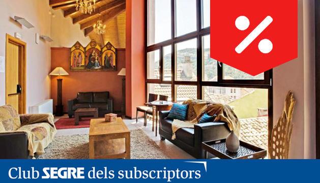 L'Hotel Palacio del Obispo és un exclusiu hotel de 4 estrelles ubicat a Graus (Osca) i emplaçat en un antic palau del S.XVII.