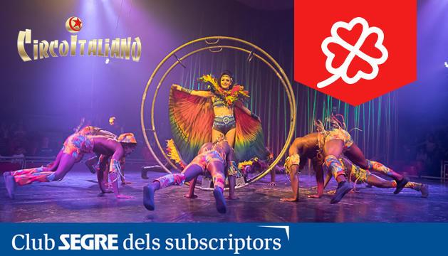 El Circo Italiano presenta el seu nou espectacle 'Bellissimo', dos hores per disfrutar i riure en família.