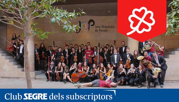 La Jove Orquestra de Ponent va debutar el 2012 com a formació resident de l'Auditori Enric Granados