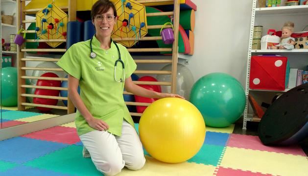 Ariadna Verdeny es la directora de VuitOnze fisioterapia Lleida