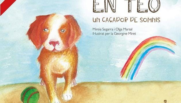 La portada del llibre 'En Teo, un caçador de somnis'.