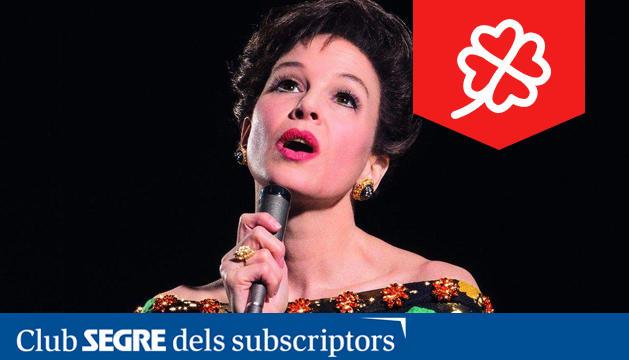 L'actriu nordamericana Renée Zellweger interpreta a Judy Garland en els seus darrers anys de vida.