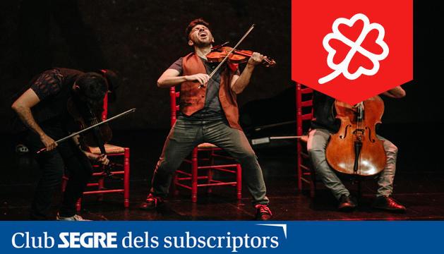 El grup Aupa Quartet ens presenta aquest espectacle participatiu on el públic adquireix un paper protagonista.