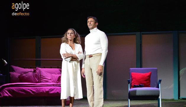 Dos estrellas del teatro en escena