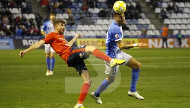 El Lleida salva un punt davant de l'Olot