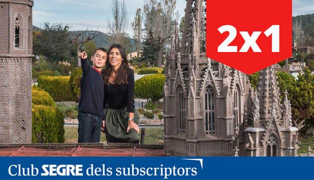 El Parc de les maquetes de Catalunya en miniatura.
