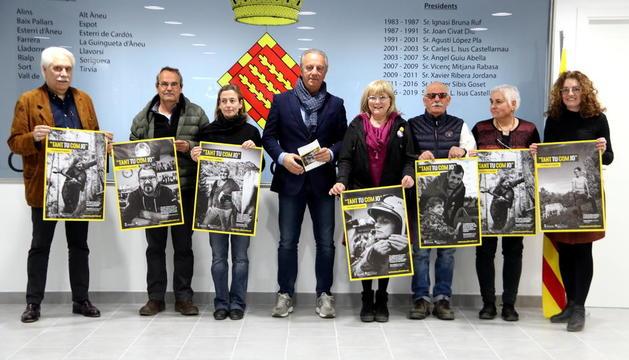 La campanya es va presentar ahir al consell comarcal del Sobirà.