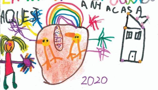 El dibuix de la Júlia Limia de 5 anys.