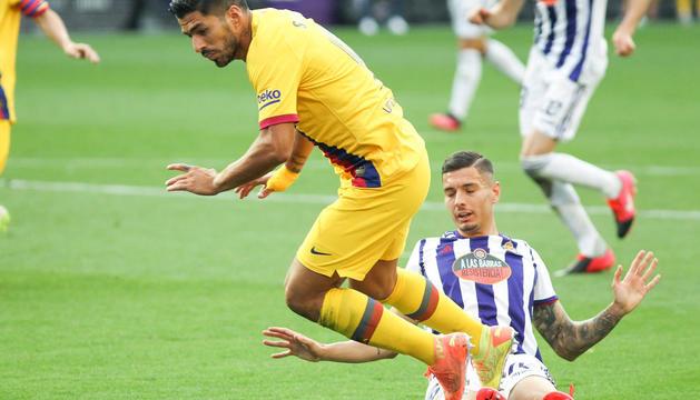 Arturo Vidal celebra el seu gol amb els companys.