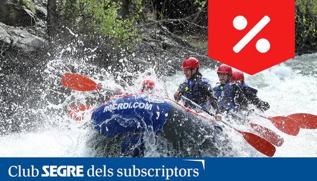 A l'estiu és moment de gaudir dels esports d'aigua i d'aventura amb Roc Roi.