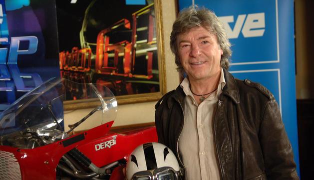 El pioner del motociclisme espanyol, Ángel Nieto.