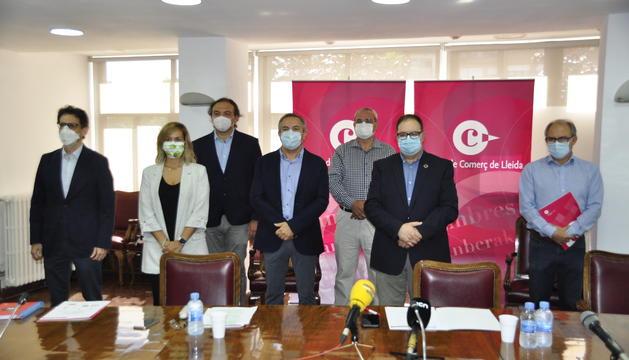Els empresaris de Lleida exigeixen aixecar el confinament estricte i tancar només les microzones amb brots