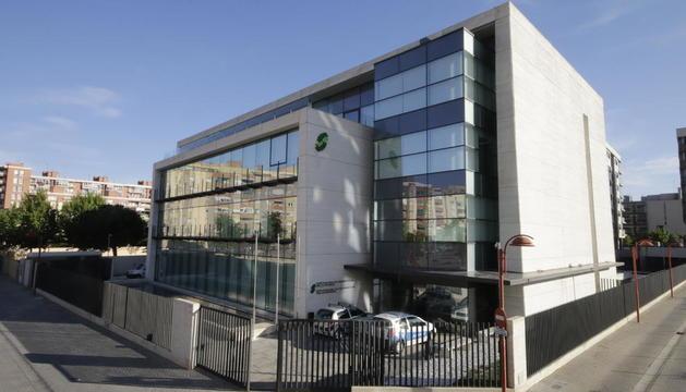 Imagen del edificio de la Seguridad Social en Lleida.