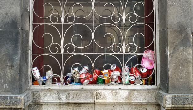 Una imatge molt freqüent als carrers de Lleida