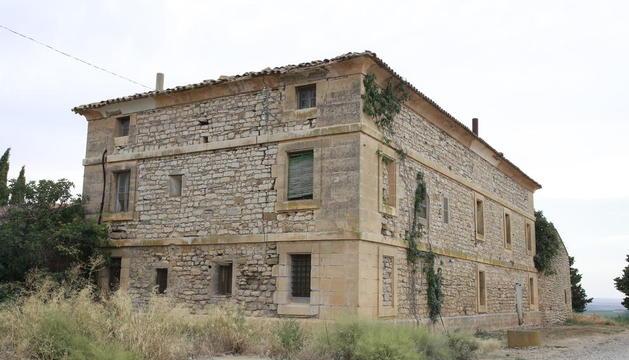 Imatge d'arxiu de la casa de la família de Macià a Vallmanya.