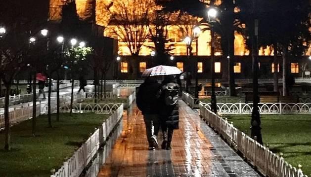 Joan Camí de Lleida ha estat el guanyador del concurs 'Fotos romàntiques' d'aquest any.