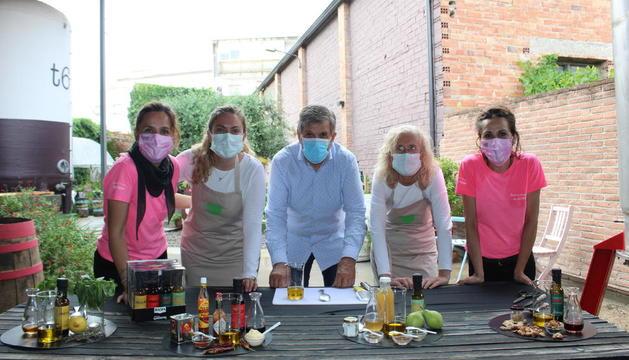 Las vinagretas fueron presentadas en un taller de cocina saludable.