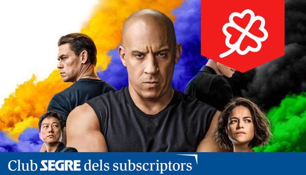Llega la novena entrega de la saga 'Fast & Furious', con Vin Diesel y Charlize Theron.