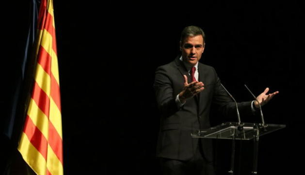 Pedro Sánchez, al Liceu.