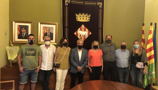 Enric Mir deja el Ayuntamiento de Les Borges Blanques y Núria Palau asume la alcaldía en funciones