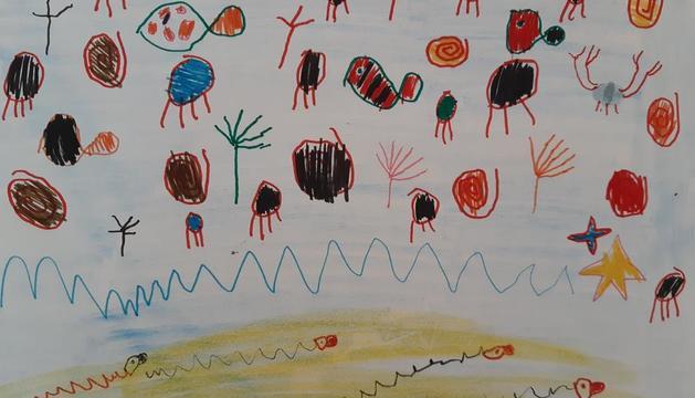 El Pol Monera, de 5 anys, ha estat un dels guanyadors del concurs 'L'estiu en colors'.