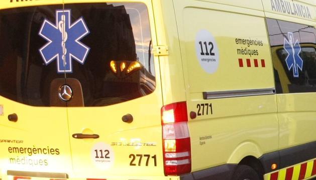 Una ambulancia del SEM en una imagen de archivo.