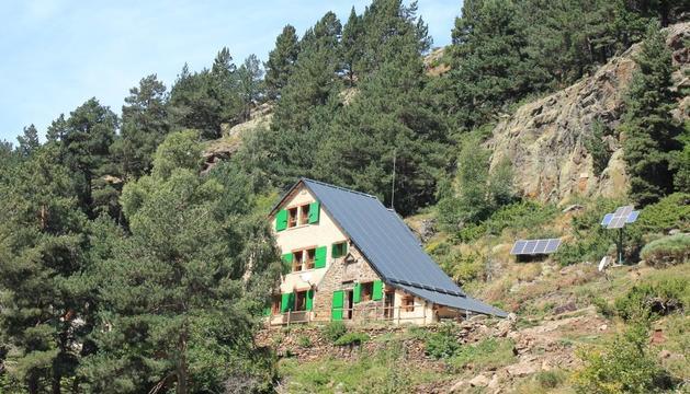 refugi vallferrera. Inaugurat l'any 1935, el de Vallferrera és el refugi federatiu més antic de Catalunya.