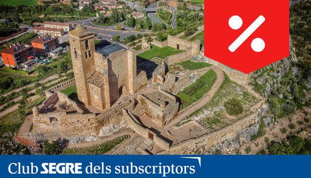 El Castillo de Benabarre fue propiedad de los Condes de Ribagorza y, años más tarde, declarado bien de interés cultural.