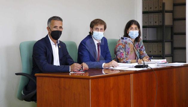Miquel Serra, aquest dilluns al jutjat de Lleida.