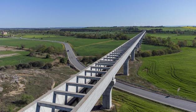 La conexión del abastecimiento con el canal estará junto al acueducto de Ratera.