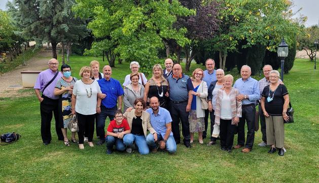 Després del confinament, la família ha pogut celebrar de nou la trobada.