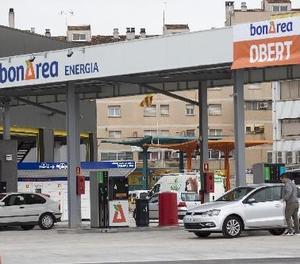 La nova gasolinera de Bonàrea, situada a l'avinguda Barcelona.