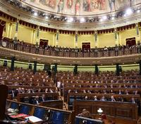 Una vista del Congrés durant el debat d'investidura