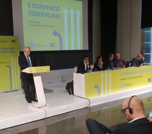 Montilla, a la convenció federalista de la fundació del PSC.