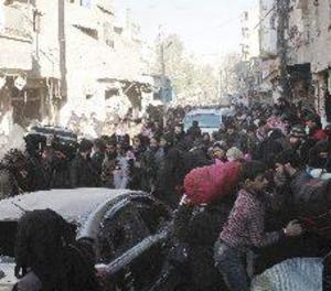Suspesa l'evacuació de persones de l'est d'Alep després d'explosions