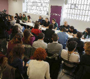 Iglesias crida a no convertir Podemos en un camp de batalla de corrents