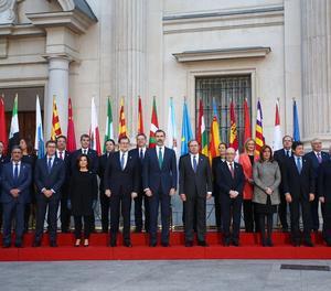 Foto de Foto de família de la VI Conferència de Presidents