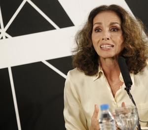 L'actriu Ana Belén, ahir a l'Acadèmia del Cine a Madrid.