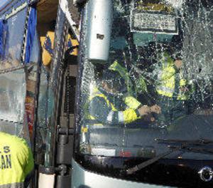 Confirmen que el conductor de l'autobús accidentat a Fuenlabrada anava drogat i els infants sense cinturó