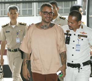 Artur Segarra a la seua arribada al tribunal penal de