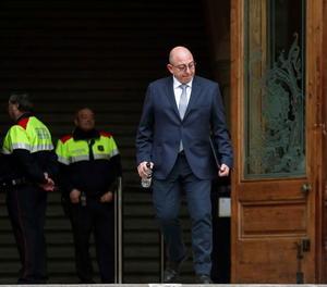L'exassessor del Departament de Gobernació Joan Cañada, aquest dimarts al Tribunal Superior de Justícia de Catalunya.