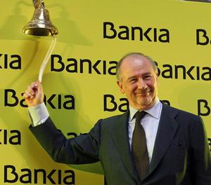 Rato, en l'inici de la sortida a borsa de Bankia el 2011.