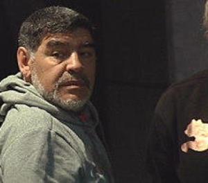 La Policia acudeix a l'hotel de Maradona a Madrid després d'una forta discussió amb la seua parella