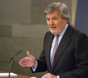 El portaveu del Govern, Íñigo Méndez de Vigo.